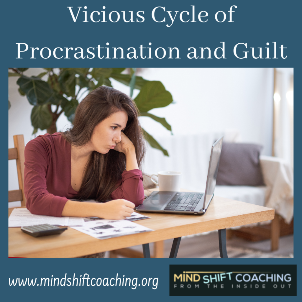 Procrastination and Guilt