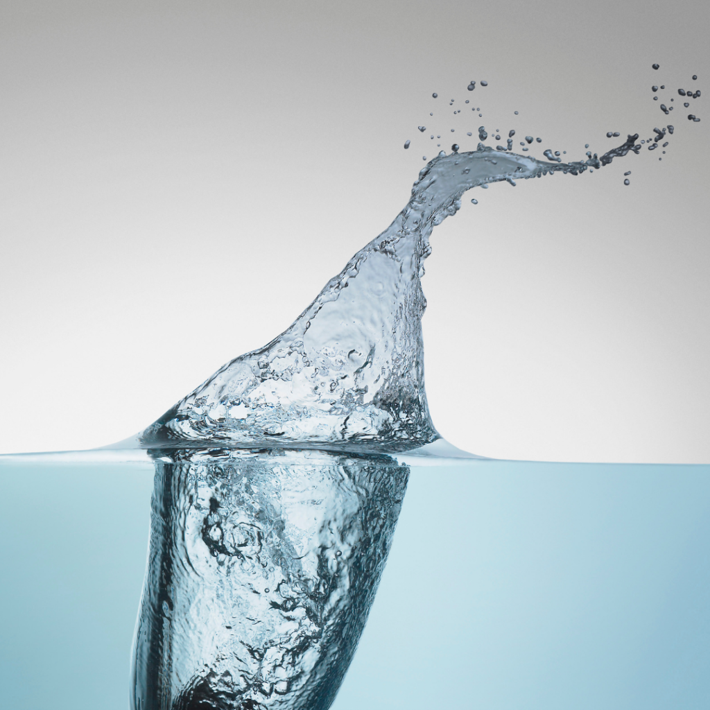 How much water do you drink per day?
